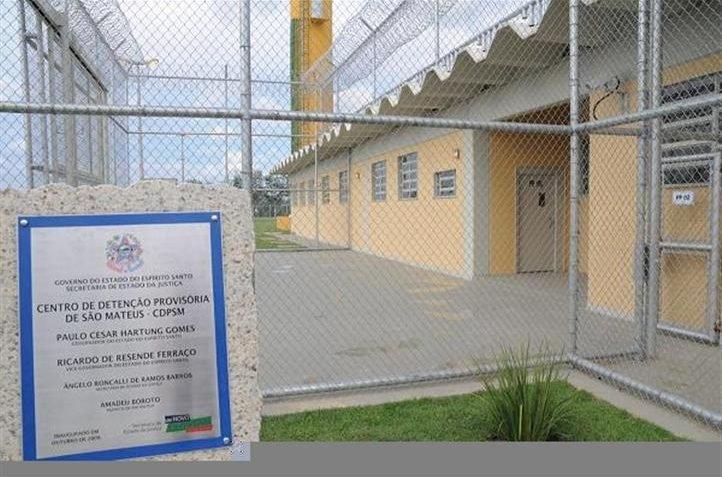 Os outros envolvidos foram encaminhados para o Centro de Detenção provisória de São Mateus.