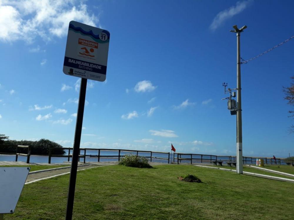 Praia no Porto de Regência continua imprópria para banho