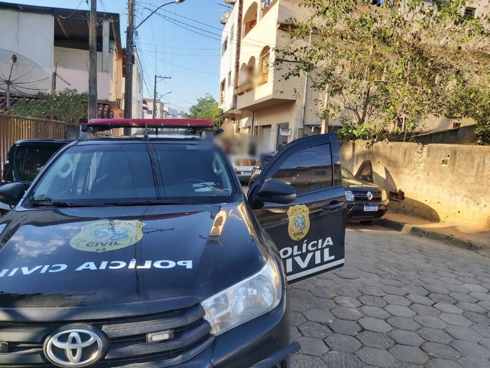 Polícia Civil realiza operação em Rio Bananal