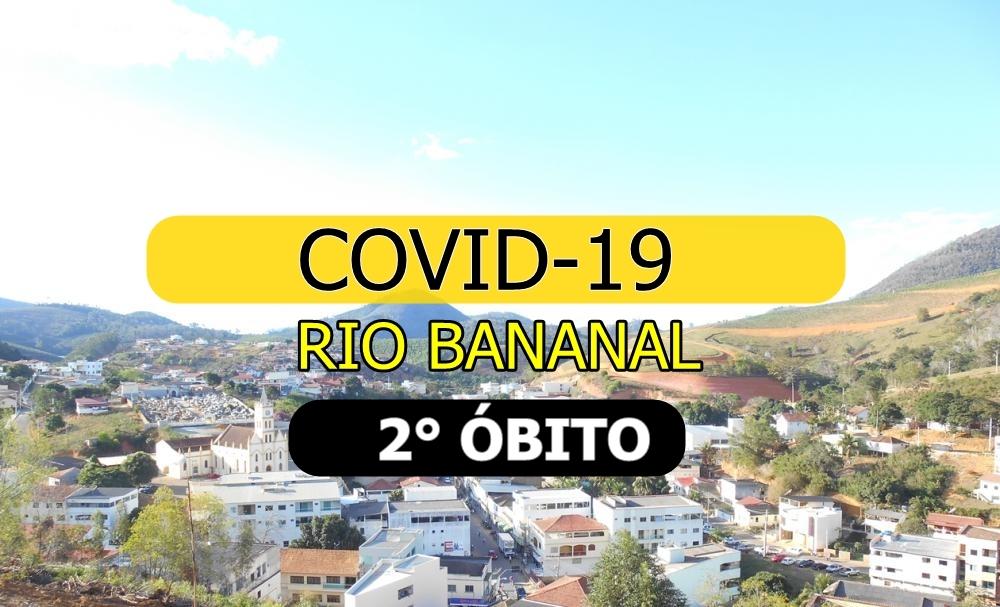 Rio Bananal registra 2° óbito em decorrência de covid-19