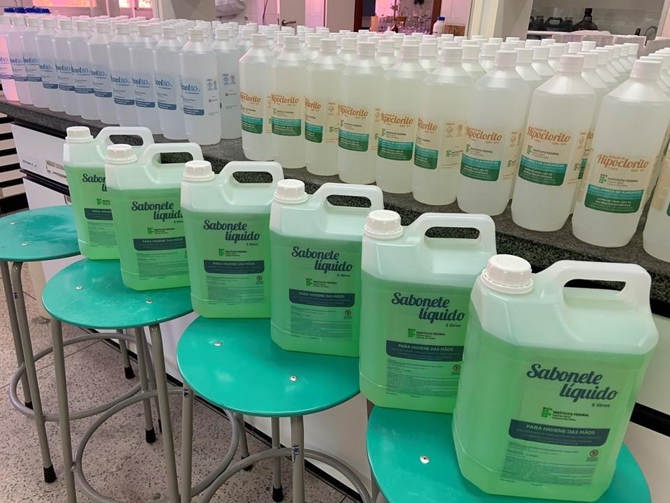 Himaba recebe doação de produtos higiênicos do Instituto Federal do Espírito Santo