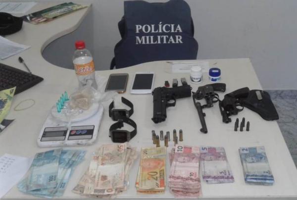 Operação conjunta em São Mateus apreende armas e drogas
