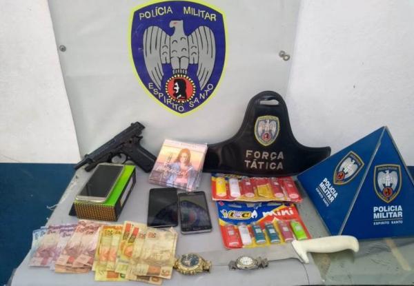 Dupla é presa após assaltos em Colatina