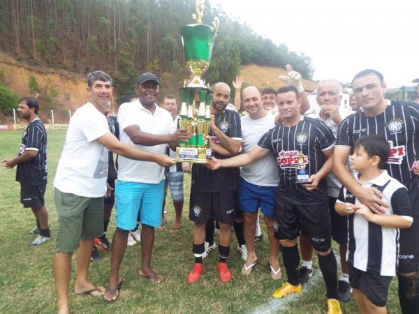 Santo Antônio é campeão do Campeonato Ribanense de Futebol Veterano