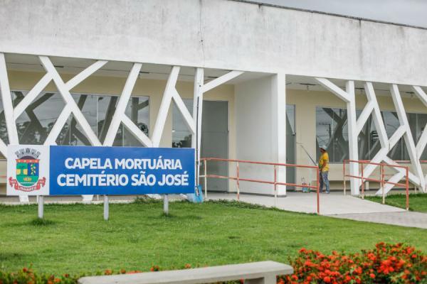 Prefeitura inicia reforma da Capela Mortuária do Cemitério São José
