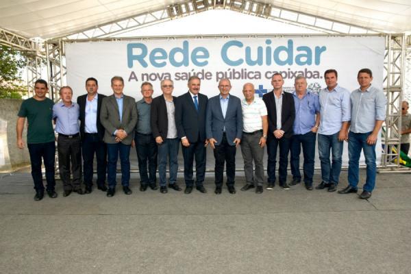 Rede Cuidar Região Central, em Linhares, é inaugurada