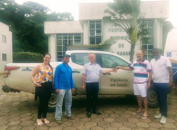 Prefeitura recebe novo veículo para o setor da Saúde