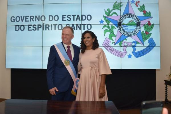 Renato Casagrande é empossado como governador do Espírito Santo