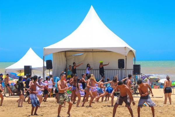 Arena esportiva do Pontal recebe Circuito de Verão neste domingo (13)