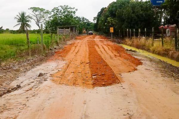 Estradas do Quartel de Cima passam por melhorias