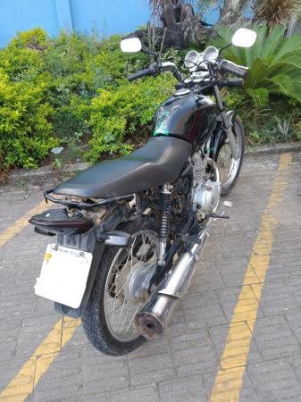 PM recupera moto roubada em Aracruz