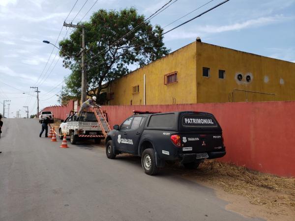 Polícia Civil e EDP fazem ação de combate ao furto de energia em parque aquático, em Vila Velha