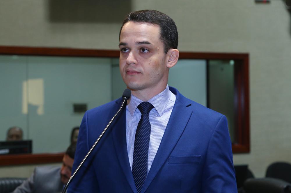 Parlamentar se pronunciou durante sessão ordinária desta quarta (3) / Foto: Tati Beling